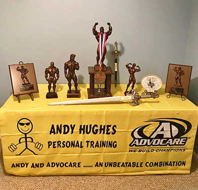 Train with a Champ - Andy Hughes Personal Trainer